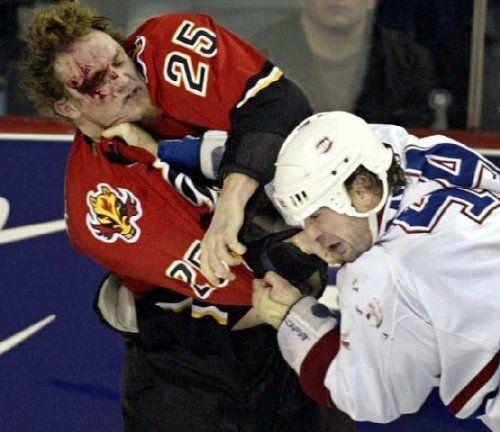 #Hockey #Fights - Follow us! Pinterest.com/Ranker