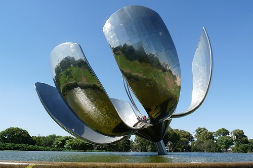 "Found in the Capital of Argentina, Buenos Aires. Visited ""Floralis Generica"""