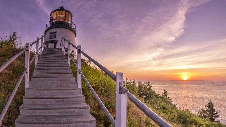 Owls Head Light, Owls Head, Maine | Even ghosts seem to love these majestic lighthouses. Take a tour of the spooky beacons or spend the night—if you dare.