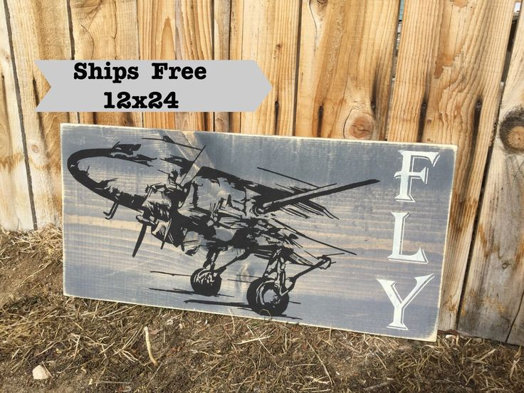 Vintage Airplane Decor Pilot Gift Aviation Airplane