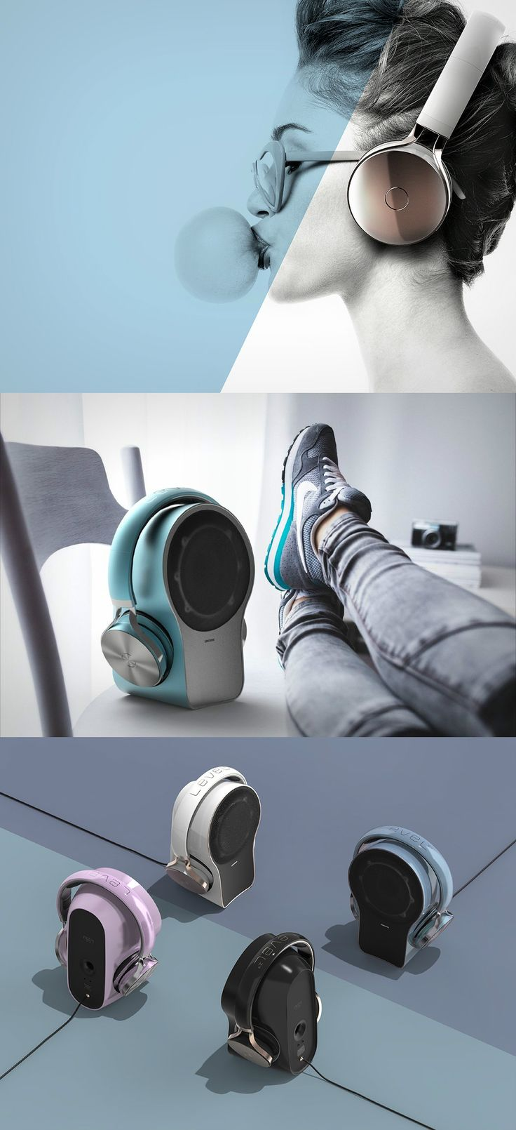What's better than one audio device? A two-in-one! No?! Read more at Yanko Design