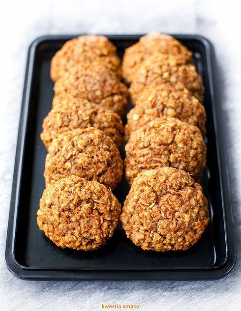 Zdrowe ciasteczka owsiane z marchewką | Kwestia Smaku