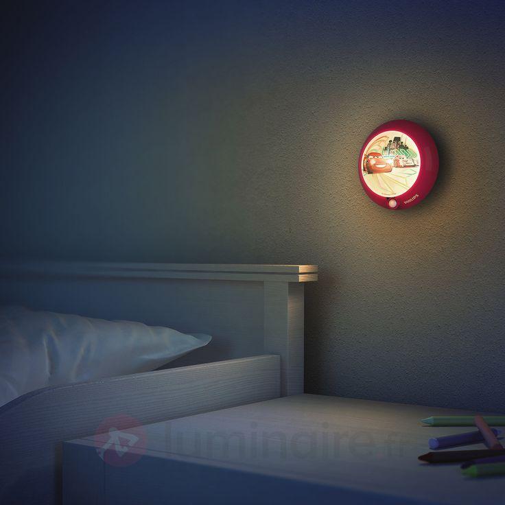 Veilleuse LED enfant Cars à détecteur de mouvement, référence 7531542 - Veilleuses pour enfant et bébé chez Luminaire.fr - Frais de port offerts dès 99€