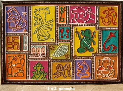 Attractive Designer Mud Work Frame