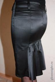 Облегающая юбка