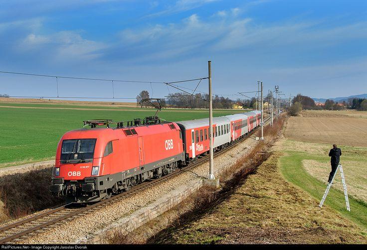 RailPictures.Net Photo: ÖBB 1116 277 5 Austria Federal Railways (ÖBB) ÖBB 1116 at Dolni Svince, Czech Republic by Jaroslav Dvorak