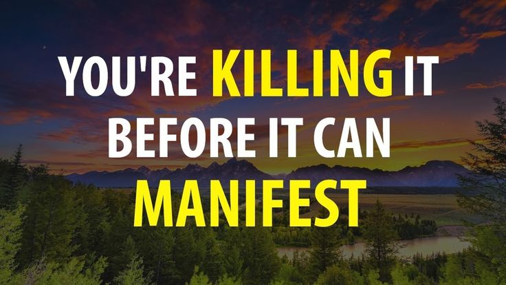 Abraham Hicks, Doing This Is What Kills Your Manifestation Before You Se...