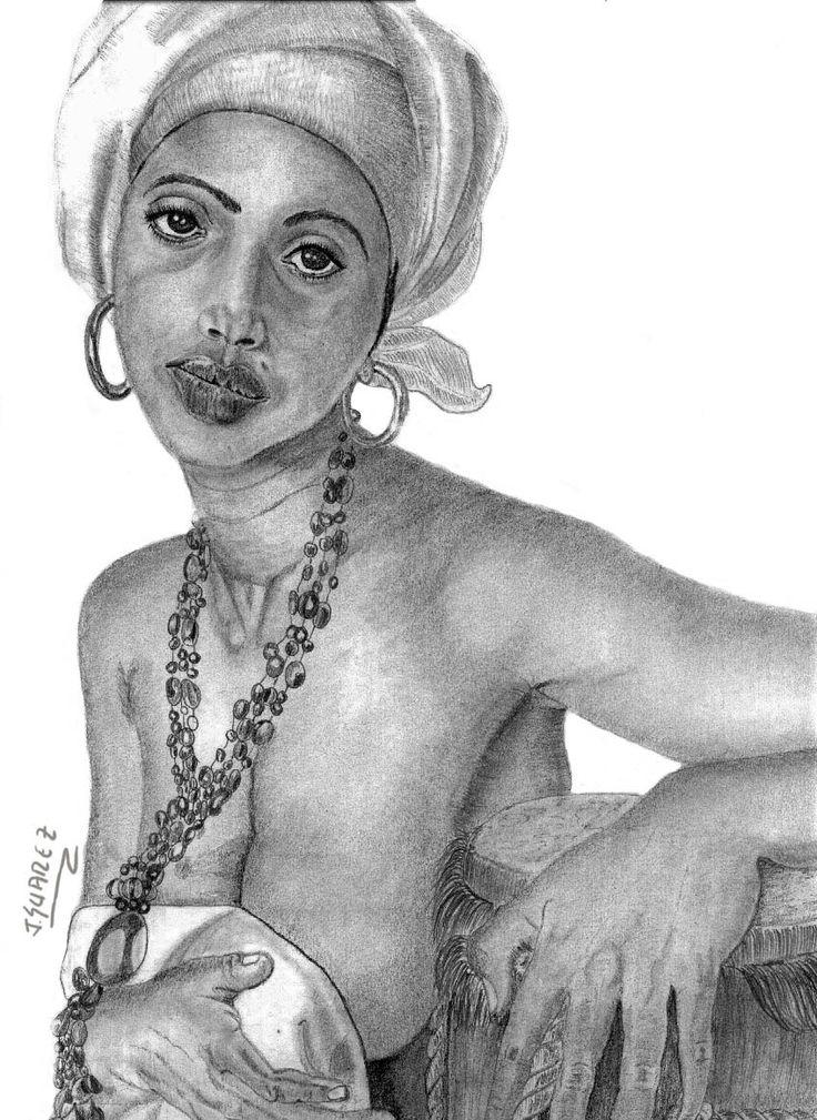 Lápiz graphite-Morena folclorista