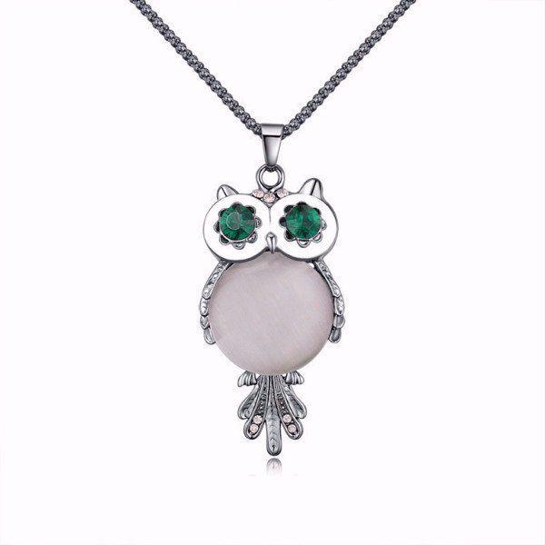 Description: Fine or Fashion: Fashion Item Type: Necklaces Pendant Size: 3.5*6.5CM Necklace Type: Pendant Necklaces Gender: Women Material: Crystal Chain Type: Popcorn Chain Length: 77cm Metals Type: