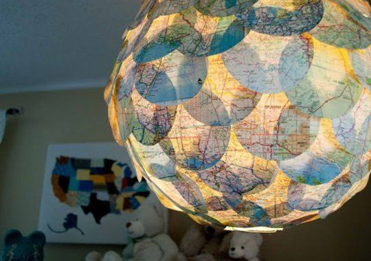 DIY Room Decor: 3 Fresh Ideas Using Maps | Apartment Therapy