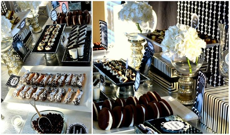 1940's Gangster Anniversary Party {Adult Party Ideas} via TipJunkie.com
