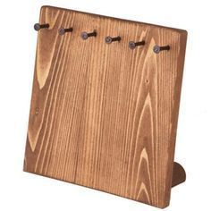 Jewelry Display – Wood Small Board Display. Great for displaying or storing Jewe…