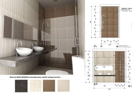 Desain Toilet Minimalis Modern