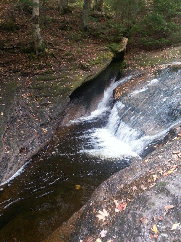 Beatty Brook Falls, near Millstream. NB