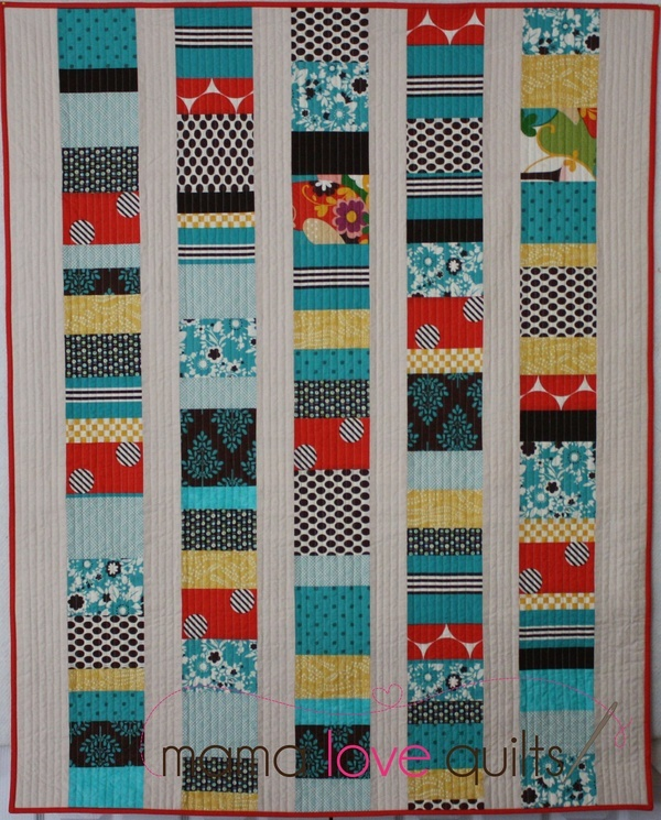 Modern Baby Quilt. baby-quilt-ideas | Baby Clothes | Pinterest