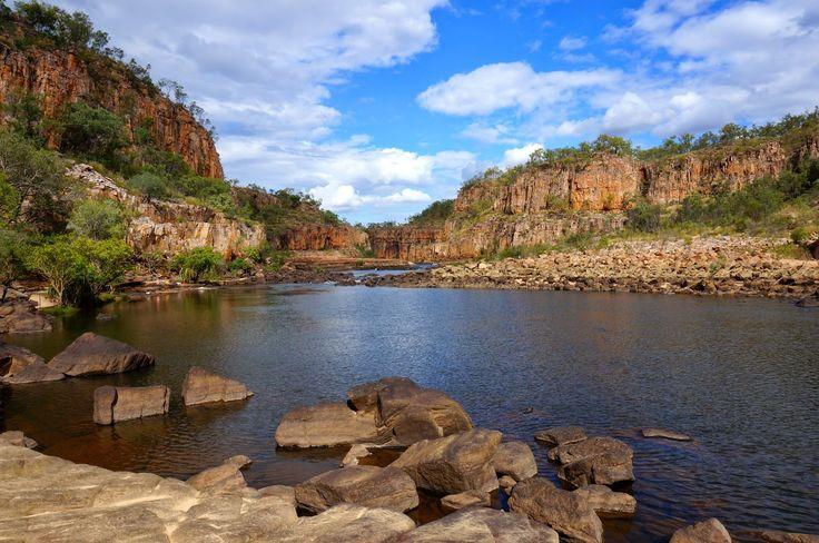 Кэтрин ущелье вблизи Дарвин, Австралия