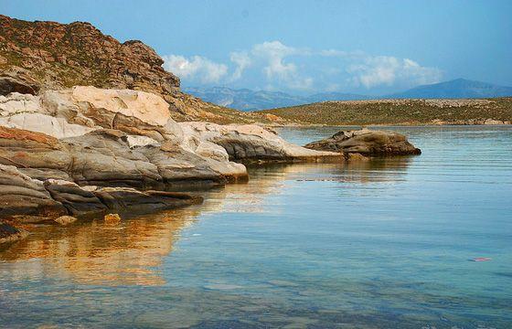 Monastiri Beach in Paros island