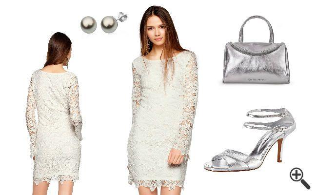 Vintage Brautkleidern im 20er Spitzen Look: http://www.kleider-deal.de/vintage-brautkleider-20er-spitzen-look-outfit-zusammenstellen/ #Vintage #Brautkleider #Hochzeitskleider #Hochzeit #Braut #20er #Outfit