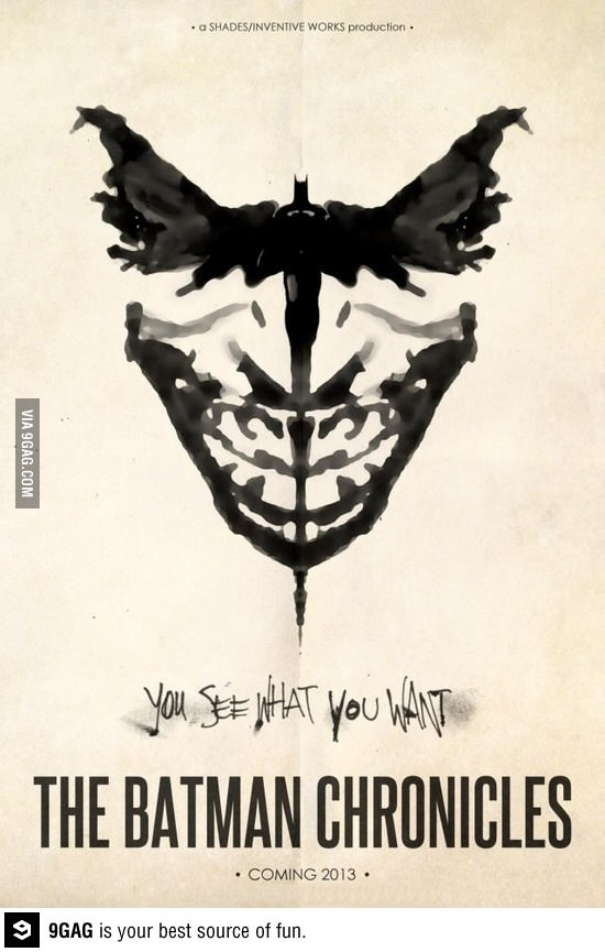 Batmar or Joker... mmm i prefer both - 9gag