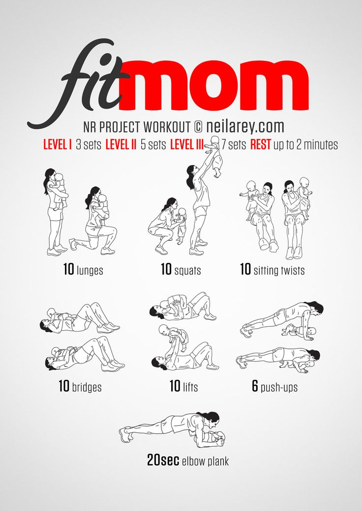 Fit Mom Workout