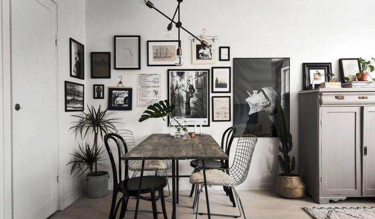 Source: Hisoriska Hem via Coco Lapine DesignSmukke billeder af en smuk bolig, der giver mig lyst til at gå i krig medmaling og pensel. Jeg synes, at kombinationen af hvide, blå-grønne og lyserøde vægge fungerer noget så godt. Og så elsker jeg, at de også har malet radiatoren lyse