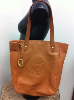 as new Ralph Lauren leather purse