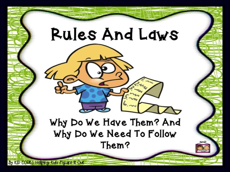 essay on why we need rules Why is it important to follow rules essays and the reason why we would have chaos is lot of rules people need to follow on the internet and they can.