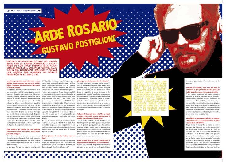 Tipografía II - Cátedra Gaitto - Revista Pop Art - Pág 4-5