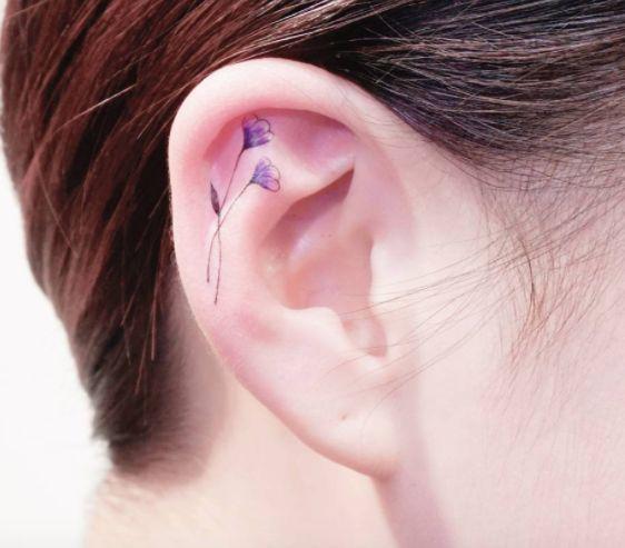 Tatuajes Helix en las orejas