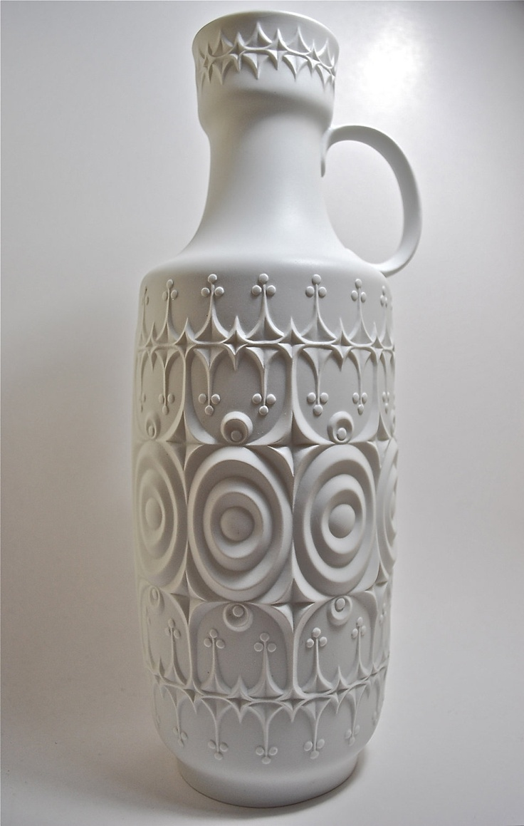 269 best white vases images on pinterest white porcelain white sale large mid century matte porcelain vase extraordinary design kaiser germany 6500 via etsy floridaeventfo Choice Image