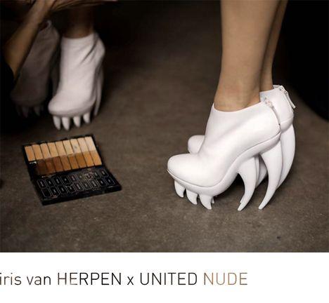 crazy shoes by Iris van Herpen