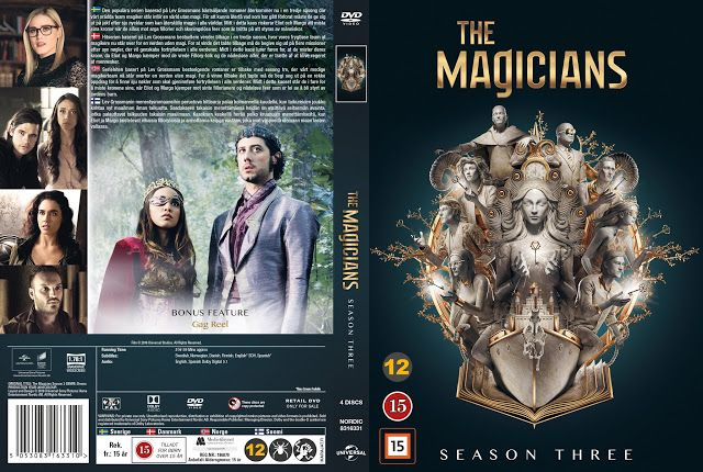 Cover Dvd The Magicians Season 3 2019 Magia Filme Predadores