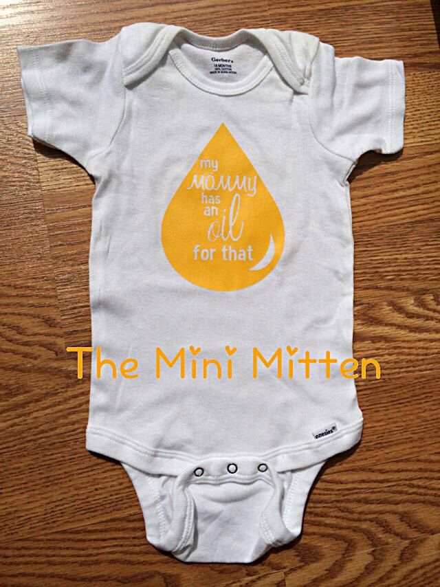 My mommy has an oil for that baby bodysuit, lemon dropper, young living, doterra, essential oils, oils, oily, eo, clean living, baby shower by theminimitten on Etsy https://www.etsy.com/listing/243782629/my-mommy-has-an-oil-for-that-baby