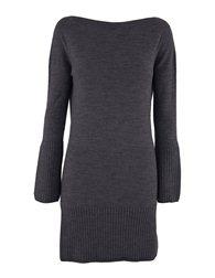 Celtic Sheepskin Boat Neck Dress graphite Gray S (on me, M, am 10-12)