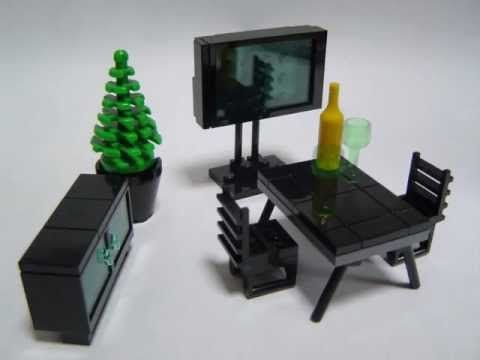▶ How to make Lego furniture 4 - YouTube