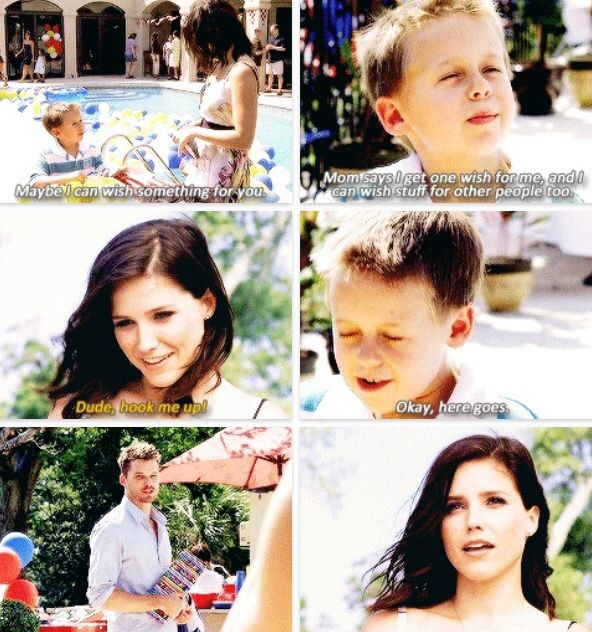 I love how close Brooke and Jamie are. At one point, it seems Jamie is the closest she will ever come to having kids, and the fact that he loves her just as much as she loves him is truly special