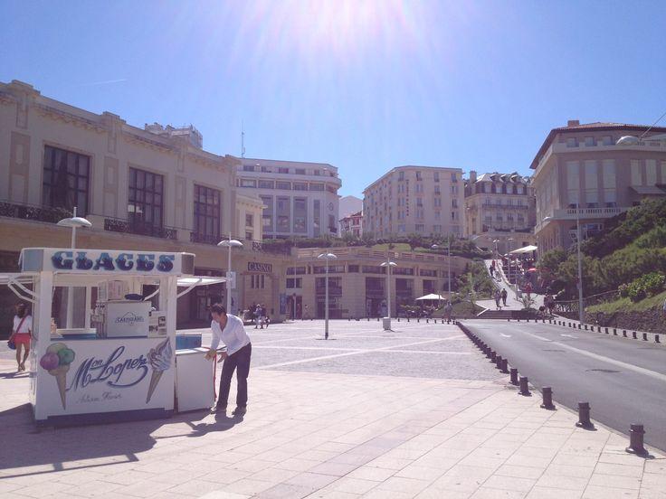 Place du casino - Biarritz