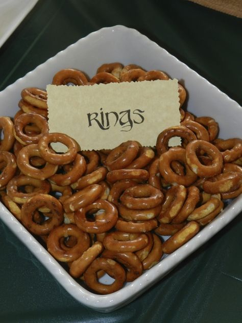 Hobbit / Lord Of The Rings Birthday Party Ideas