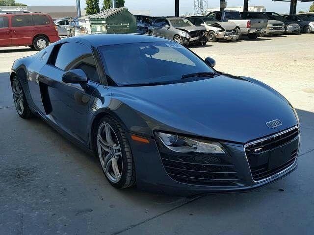 #salvage #forsale #2009 #audi #r8 #QUATTRO #v10 #awd www.bidgodrive.com #exotic #luxury #germancars #deutschland #uae #dubai #fast #speed #buy #speed #coupe #beauty #beautiful
