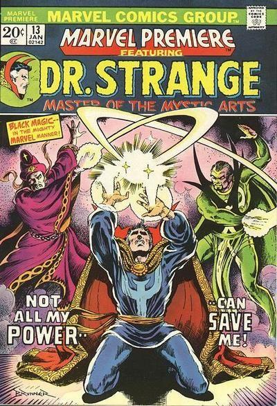 Marvel Premiere # 13 by Frank Brunner