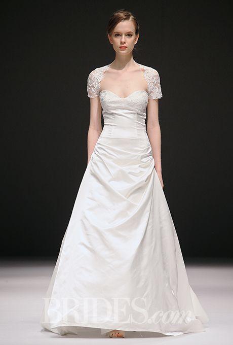 Brides.com: . Wedding dress by Jenny Lee