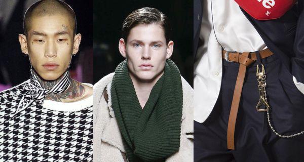 Модные мужские аксессуары осень-зима 2017-2018 включают в себя перчатки, шарфы, ремни, пояса и не только. Рассмотрим основные тенденции