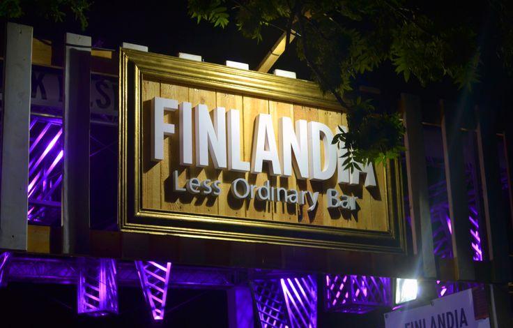Finlandia Less Ordinary Bar • Balaton Sound • 2015   #finlandia #lessordinary #balatonsound #agency #hungary