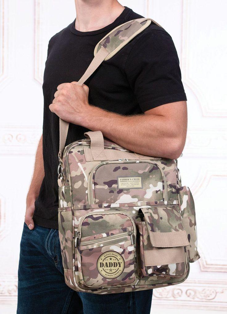 Military Daddy Diaper Bag