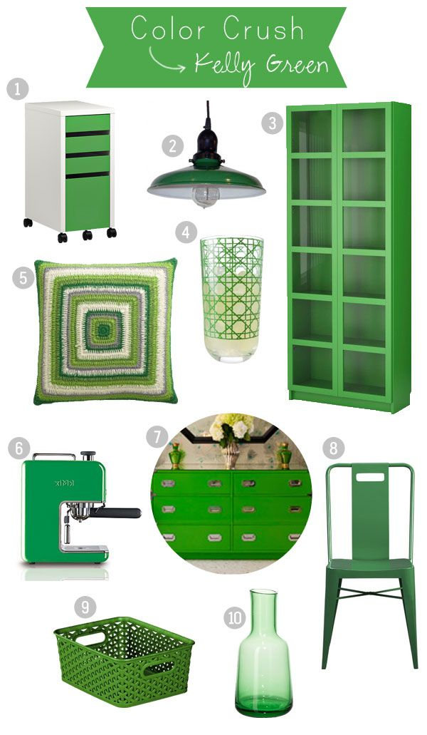 I want that cabinet or at least paint the closet door green and add glass inserts!