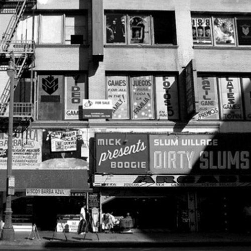 """""""Slum Village"""" for music in Detroit.."""