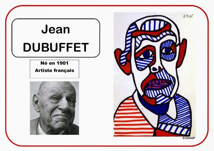 Jean Dubuffet - Portrait d'artiste