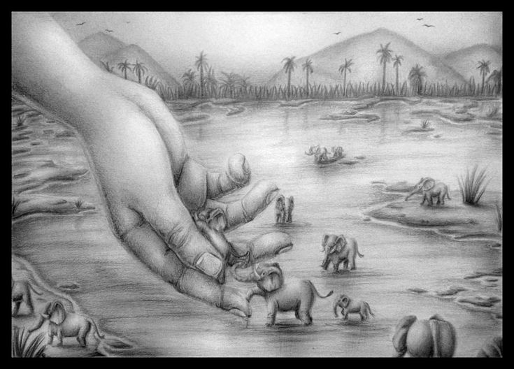 Handscape drawing project