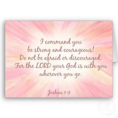 I love my bible // Joshua 1:9 Cheer Up! You Will Are Blessed!...