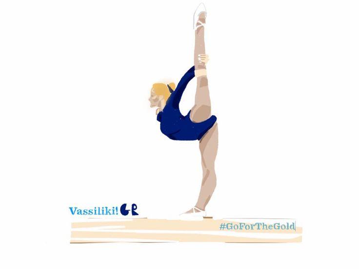 Vassiliki Millousi | Gymnastic  #TeamHellas_Rio2016 #OlympicGames2016